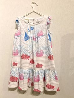 Perfect Days dress with the popular sea inspired trend for summer 2015 kidswear at Playtime Paris
