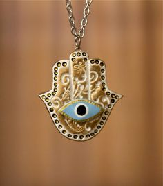 To ward off the evil eye....Should I really want to need this?  Probably not, but it is beautiful anyway.