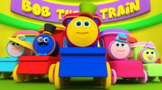 Bob, The Train - Bob Finger Family Song | Nursery Rhymes And Children's ...