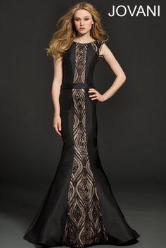 Sleeveless Mermaid Evening Dress 98623