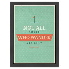 Showcasing an inspirational quote surrounded by a wood frame, this eye-catching print is at home in your study or beside a bookshelf.  ...