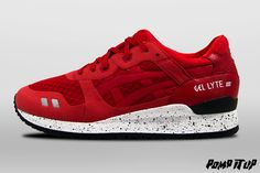 Asics Gel Lyte III NS (Red/Red) For Men Sizes: 40.5 to 45.5 EUR Price: CHF 165.- #Asics #GelLyte #GelLyteIII #GelLyteIIINS #GL3 #Sneakers #SneakersAddict #PompItUp #PompItUpShop #PompItUpCommunity #Switzerland Baskets, Asics Gel Lyte Iii, Chf, Switzerland, Sneakers, Shoes, Fashion, Undertaker, Tennis