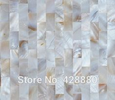Shell Mosaic Tiles Wall Mother of Pearl Tile Backsplash Kitchen Subway fresh water Natural Seashell Tiling Floor sticker WP-089