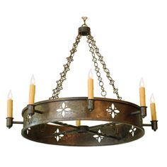 """""""Apotheose"""" - a hand forged chandelier by Heritage Metalworks"""