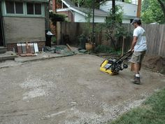 Manufactured brick pavers are a durable and inexpensive material choice when installing a patio.