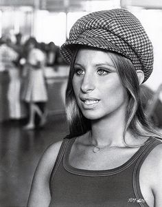 "Barbra Streisand in ""What's Up Doc?"" (1972)."