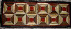 Spool rug. HomeSpunPrims