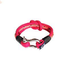 Pink Nautical Bracelet by Bran Marion