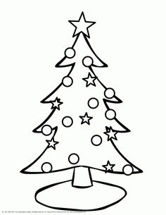 christmas coloring christmas tree coloring pages for children christmas tree coloring pages for childrenfull size image
