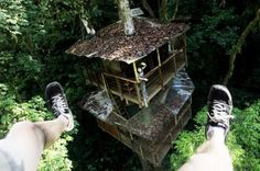 Eco treehouse in Costa Rica