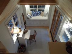 The Ynez tiny house, from the Oregon Cottage Company, measures just 172 square feet.