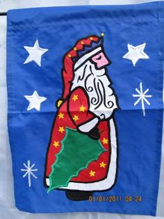 Santa Garden Flag 16 x 12 -- See this great product.