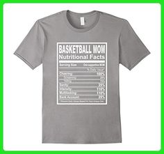Mens Basketball Mom Nutritional Facts T-Shirt Large Slate - Relatives and family shirts (*Amazon Partner-Link)
