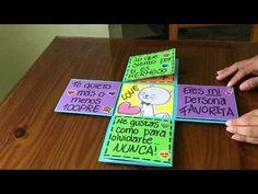 Tarjeta para regalar en cualquier ocacion / regalo fácil y barato / DIY /ideas y manualidades - YouTube Diy Crafts For Girls, Diy And Crafts, Paper Crafts, Diy Birthday, Birthday Cards, Birthday Gifts, Ideas Aniversario, Easy Crochet Stitches, Simple Doodles