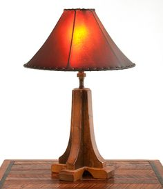 Barnwood Lamp by Woodland Creek Furniture.
