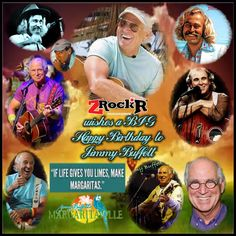 Jimmy Buffett Collage' Photoartist LisaKay Allen/PassionFeast
