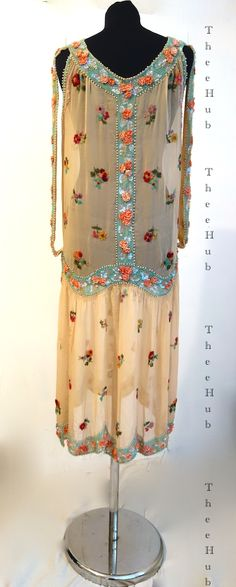 a heaven sent glass case soiree princess dress from the 1920s a rare and exquisite ... at thee hub