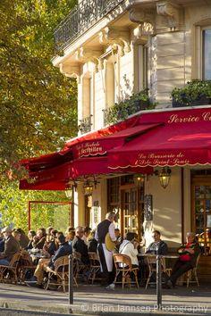 Brasserie de l'Ile Saint-Louis~ Ile Saint-Louis, Paris, France: