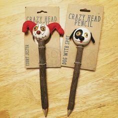 Crazy head pencils