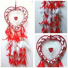 Aura's Heart Dreamcatcher Wallhanging