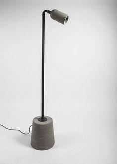 Floor-standing lamp / contemporary / silicone / metal ZHAN  Bentu