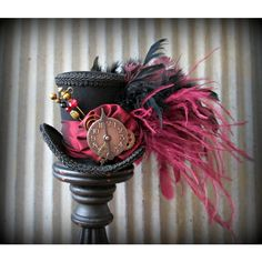 Collection featuring Spirit Hoods Accessories, Spirit Hoods Hats, and 98 other items Female Mad Hatter, Alice In Wonderland Hat, Wonderland Party, Mardi Gras Hats, Steampunk Top Hat, Bunny Hat, White Rabbits, Steampunk Accessories, Costume Hats