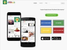 Ahhaa App- People to People Inspiration Engine