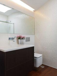 Proyecto de reforma de baño llevada a cabo por Castroferro Arquitectos.