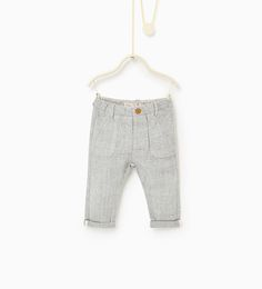 Grey marl trousers-TROUSERS-Baby boy-Baby | 3 months - 3 years-KIDS | ZARA United States