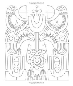 mid century modern art coloring pages google search colour pinterest mid century modern art - Modern Patterns Coloring Book