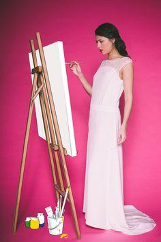 Les Mariées Fox - Créatrice de robes de mariée - Paris| Modèle : Florence | Photographe : Alex TOME  | Donne-moi ta main - Blog mariage