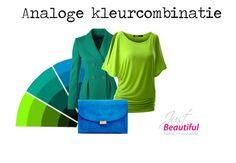 Analoge Kleurencombinatie by justbeautiful www.kledingenkleuradvies.nl