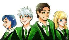 [Lime-Hael Hogwarts AU] Slytherin by Lime-Hael