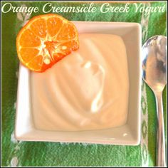 Orange Creamsicle Sugar Free Greek Yogurt