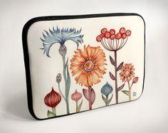 Meadow flowers - Laptop Case - Bag Sleeve from VectorDecor by DaWanda.com
