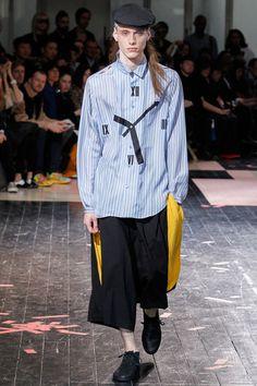 Yohji Yamamoto Spring 2014 Menswear Collection Slideshow on Style.com