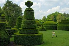 Topiary Gardens: Longwood Gardens were designed to be one of the most incredible American estates by Geoffrey Jellicoe, the founder and first president of the International Federation of Landscape Architects.: