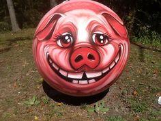 Amazing pig propane tank