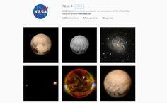 LA MEJOR AGENCIA DIGITAL. La Administración Nacional de la Aeronáutica y del Espacio (NASA), difundió la primera imagen de la superficie de Plutón por medio de la red social Instagram. Esta fotografía, muestra las peculiares figuras de la superficie de Plutón con un nivel de detalle nunca antes alcanzado. #lamejoragenciadigital