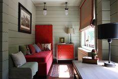 Уютный дачный дом в Подмосковье   Пуфик - блог о дизайне интерьера