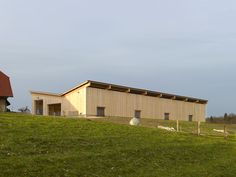 Kury Stähelin Architekten — Cowshed Wildenstein