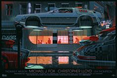 """""""Back to the Future Part 2"""" by Laurent Durieux"""