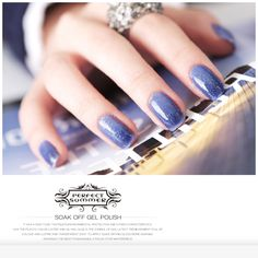 #perfectsummer #031 chameleon gel nail polish, purple color is full with elegance.