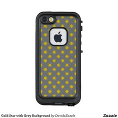 Gold Star with Grey Background Phone Case Available on many products! Hit the 'available on' tab near the product description to see them all! Thanks for looking!  @zazzle #art #star #pattern #shop #iphone #case #phone #electronic #accessory #accessories #fashion #style #women #men #shopping #buy #sale #gift #idea #samsung #galaxy #apple #mac #ipad #tablet #computer #lifestyle #fun #sweet #cool #neat #modern #chic #laptop #sleeve #ipad #black #gold