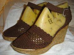 Sandalias En Crochet Para Mujer   Best Crochet