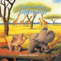 Vino cu mine, elefantelule! Winnie The Pooh, Disney Characters, Fictional Characters, Elephant, Presents, Books, Animals, Gifts, Libros