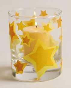 Tumbled Candles and other crafts for indoor days.