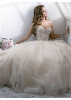 Dreamy Ball Gown 2014 New Arrival Style V-neck Lace Wedding Dress NEED ********************* perfect wedding dress! Love this!
