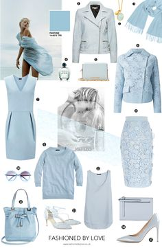 Pantone Colour Report Spring 2015 trends / aquamarine / how to wear aquamarine / outfit ideas / fashion collections S/S 2015  / shopping / blue / best buys / via fashioned by love british fashion blog