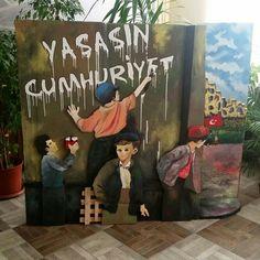 Yalova Anadolu Lisesi 29 Ekim Cumhuriyet Bayramı dekoru